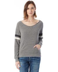 Alternative Apparel - Maniac Sport Eco-fleece Sweatshirt - Lyst