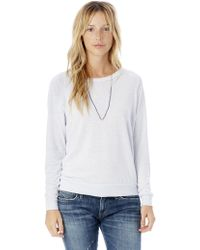 Alternative Apparel - Slouchy Eco-jersey Pullover - Lyst