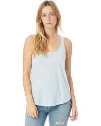 Alternative Apparel - Backstage Vintage Jersey Tank Top - Lyst
