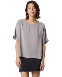 Alternative Apparel - Rayon Challis Boxy T-shirt - Lyst