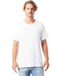 Alternative Apparel - Perfect Crew Organic Pima T-shirt - Lyst