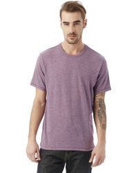 Alternative Apparel - Keeper Vintage Jersey Crew T-shirt - Lyst