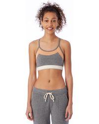Alternative Apparel - Stretch It Out Eco-lycra Jersey Bra - Lyst