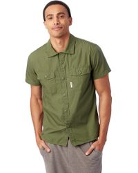 Alternative Apparel - Topo Designs Short Sleeve Field Shirt - Lyst