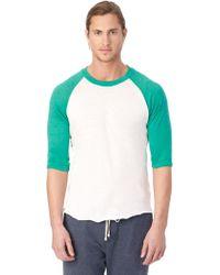 Alternative Apparel | Baseball Eco-jersey T-shirt | Lyst