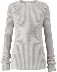 Amanda Wakeley - Kinishba Mercury Knitted Sweater - Lyst