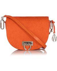 Amanda Wakeley - Crossbody Niven Bag In Marrakech Orange - Lyst