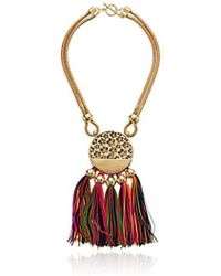 """Trina Turk - Mojito Nights Open Lariat Y-shaped Necklace, 20"""" - Lyst"""