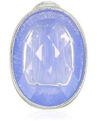 Napier - Purple Button Clip On Earrings - Lyst