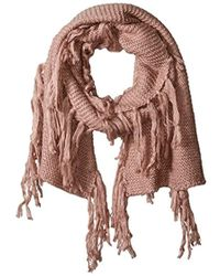 French Connection - Soft Knit Vera Scarf - Lyst