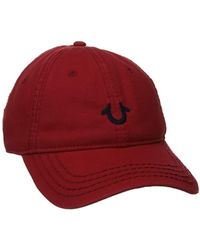 True Religion - Core Logo Baseball Cap, - Lyst