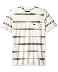 Navy MSRP $36 Brixton Hilt Washed Short Sleeve T-shirt Pine