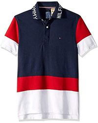 Tommy Hilfiger Adaptive Polo Shirt With Magnetic Buttons Custom Fit