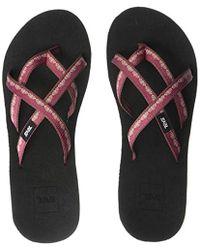 13a0434768f5 Lyst - Teva Mush® Mandalyn Wedge Ola 2 Sandals (for Women) in Brown