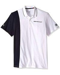 65861b92e5da Lyst - PUMA Bmw Motorsport Men s Polo Shirt in Gray for Men