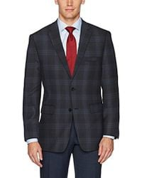 Vince Camuto - Modern Fit Windowpane Sport Coat - Lyst