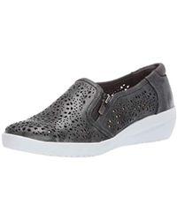 Anne Klein - Sport Yvette Perforated Slip-on Sneakers - Lyst