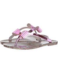 cc373722914 Lyst - Kate Spade Foxy Flip Flop in Pink