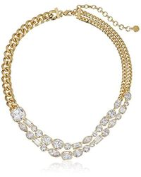 Nicole Miller - Mixed Cushion Collar Necklace - Lyst