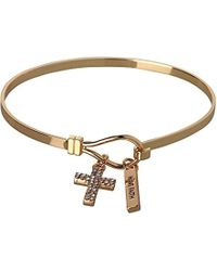 BCBGeneration - Bcbg Generation Cross Charm Bracelet - Lyst