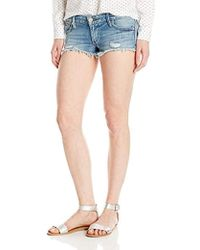 True Religion - Joey Cut Off Short With Flaps Vintage - Lyst