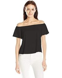 Guess - Off Shoulder Amore Top - Lyst
