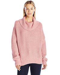 Christopher Fischer Linen Crochet Open Weave Sweater in Yellow - Lyst