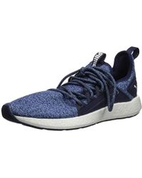 c2aa8a4ee564 Lyst - PUMA Ignite Limitless Colorblock Peacoat French Blue Mens ...