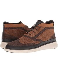 a259b6fcb280 Lyst - Cole Haan Cranston Water Resistant Chukka in Brown for Men