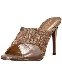 97e417fad1c Kenneth Cole Reaction - Look Beyond 2 High Heel Sandal With Cross Band  Upper Heeled -