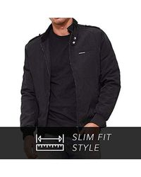 66466feea Gucci Iconic Kway Jacket in Black for Men - Lyst