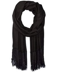 La Fiorentina - Lace Trim Evening Wrap - Lyst