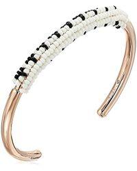 Fossil - Seed Bead Bracelet - Lyst