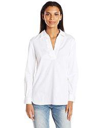 French Connection - Oldenburg Stitch Shirt - Lyst