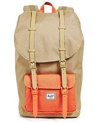 110729d8707 Lyst - Herschel Supply Co. Little America Backpack in Blue for Men