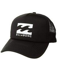 Lyst - Billabong 73 Snapback Trucker Hat in Black for Men f53fff5204b5