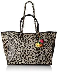 Betsey Johnson - The Mighty Jungle Large Tote - Lyst