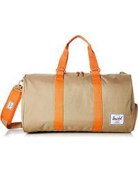 37d2b6909e Lyst - Herschel Supply Co. Novel 42l Duffel Bag - Quilted Collection ...