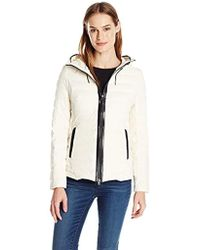 Mackage - Lightweight Down Coat With Hood - Lyst