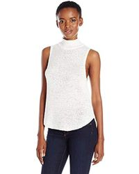 f688cabb39d604 Lyst - Old Navy Relaxed Mesh-back Fly-away Tank in Pink