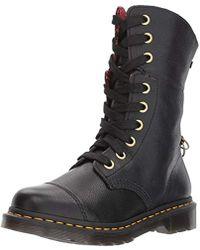 7696d0cc1d6c Dr. Martens - Aimilita Black Aunt Sally Leather Fashion Boot - Lyst