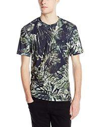Clover Canyon - Night Palms Super Jersey T-shirt - Lyst