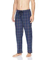Geoffrey Beene - Broadcloth Pajama Sleep Pant - Lyst