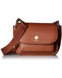 Anne Klein - A Hinge Soft Flap Shoulder Bag - Lyst