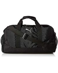 61cba3d2db8 PUMA - Evercat Interval Duffel, Black/gold, One Size - Lyst