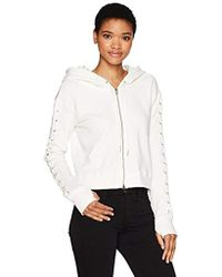 Pam & Gela - Sweatshirt With Laceup - Lyst