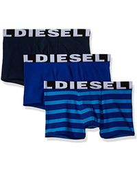 DIESEL - Shawn Three Pack Fresh&bright Striped Trunk - Lyst