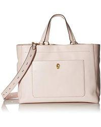 81b5047ce Cole Haan Shoulder Bag Vintage Valise Jenna in White - Lyst