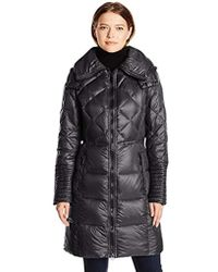 BCBGeneration - Down Coat With Hood - Lyst