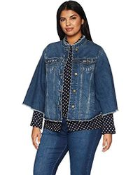 2979f6a55a8a4 RACHEL Rachel Roy Tie Dye Denim Jacket in Blue - Lyst